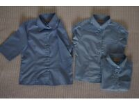 School Uniform – 3 Blue Blouses from Next, 5 Years