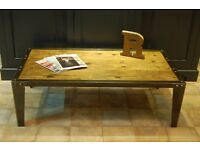 Vintage Industrial Style Coffee Table