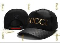 Gucci Canvas Hat with golden logo