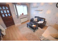 well maintained one bedroom end of terrace house drive way and & garden