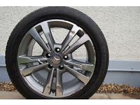 """Mercedes e220 17"""" Alloy wheels"""