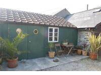 Gorgeous little converted barn by the sea in Portholland, Cornwall, for winter let £695.inclusive