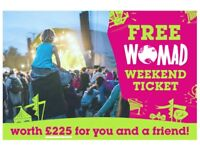Get a FREE TICKET TO WOMAD music festival if you sign up to Ecotricity energy suppliers by 8th JUNE.