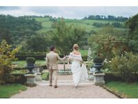 Wedding photographer in Devon. Can travel to Cornwall, Somerset and Dorset.