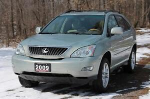 2009 Lexus RX 350 Base | Sunroof + Leather + CERTIFIED + E-Te...