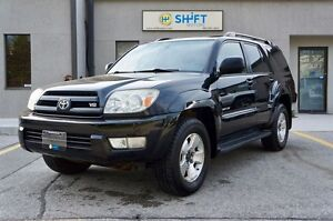 2005 Toyota 4Runner Limited V8 SUNROOF, HEATED LEATHER SEATS, LO