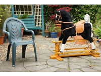Super Childs Rocking Horse - Good Sized and Very Good Quality Item
