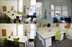 ** UPDATED LISTING - REDUCED PRICE ** Professional Desk Space in Hove £100/month - AVAILABLE NOW