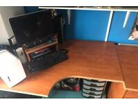 Wooden computer desk for sale