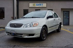 2003 Toyota Corolla INCLUES SAFETY CERTIFICATION AND ETEST!