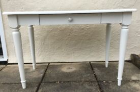 ASPACE DRESSING TABLE DESK WHITE ROOM VINTAGE DISTRESSED LOOK VGC