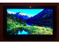 LG 42 inch HD TV including wall mounts
