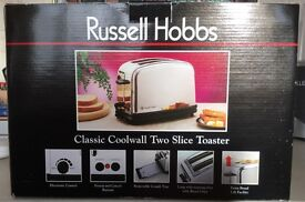Russel Hobbs Classic Cool Wall Polished Stainless Steel Two Slice Toaster