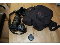 NIKON D3100 DSLR CAMERA 18-55mm Lens & Strap, Cap, Charger, Battery, Lowepro bag for sale  Carrickfergus, County Antrim