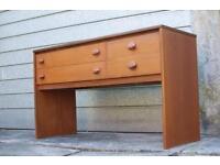 Mid Century STAG desk/ dresser/ Sideboard/ chest of drawers Teak