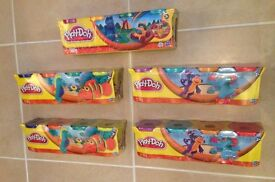 Kids Toys: 20 TUBS of Hasbro PLAY DOH, assorted colours, brand new and sealed packs