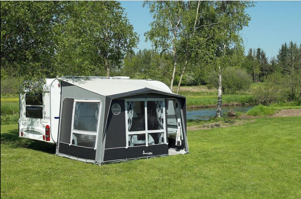 Isabella Magnum Caravan Porch Awning Carbon X Concept