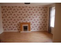 Newmilns. Riverbank St. 2/3 bed terraced house. bright and spacious. 450 pcm. 2 months in advance.