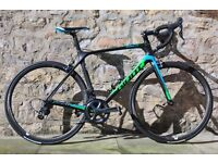 2016 GIANT TCR ADVANCED PRO 1 FULL CARBON ROAD RACING BIKE. SUPERB ORDER. CARBON WHEELS. COST £2650.