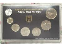 Israeli Coins Set, old denominations