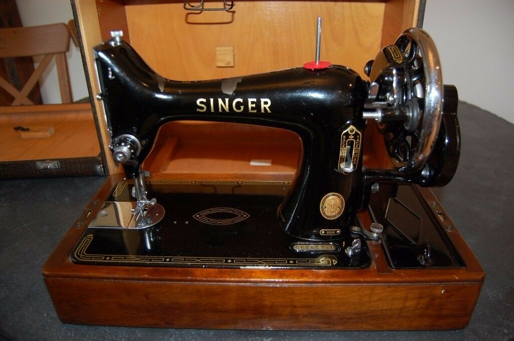 Vintage Singer Sewing Machine Manual Serviced Excellent Cool Singer Sewing Machine Manual