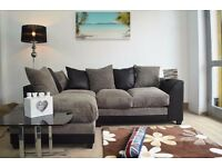 *BRAND NEW* Byron corner sofa/ 3+2 seater set or corner sofa in grey/black or beige/brown