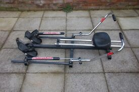 Portable exercise rower