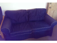 BARGAIN -- Two-Seat Sofa (x2) -- Used, Good Condition, cover washable/removable/replaceable