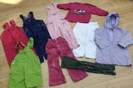 Bundle of girl's clothes for age 4 years/ size 104; charity sale