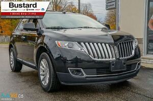 2011 Lincoln MKX LEATHER l NEW BRAKES/ NAV l BLIND SPOT SENSORS  Kitchener / Waterloo Kitchener Area image 2