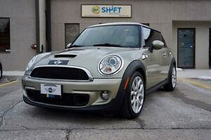 2008 MINI COOPER S HEATED LEATHER SEATS, PANO ROOF, XENONS