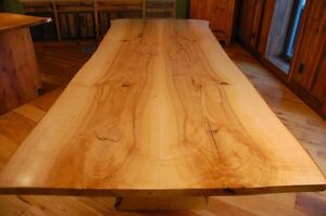 Natural slab dinning tables