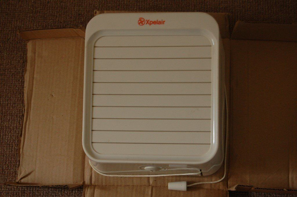 Extractor Fan Xpelair GXC6 150mm pullcord fan, new and ...