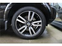 "4 GENUINE LANDMARK 20"" INCH LAND ROVER DISCOVERY 3/4 HSE ALLOY WHEELS DIAMOND CUT GLOSS BLACK ALLOYS"