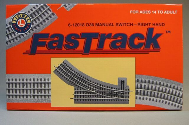 Lionel Trains Track O FasTrack 36 Manual RH Switch – Lionel Fastrack Wiring Turn Out