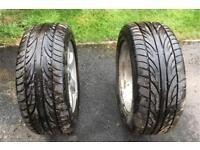 Alloy wheels & good tyres Vauxhall Omega