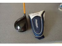 Men,s right handed Titanium Driver. Cleveland Launcher Ultralite. Stiff shaft. Collection Only