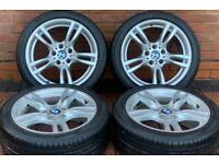 """BMW 3 Series 18"""" M Sport 400M Genuine Staggered Alloy Wheels 5x120 F30/F31/F32/F33/F34"""