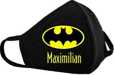 Personalisierter Mundschutz, Batman, Marvel, Geschenk, Weihnachten, Maske, Junge