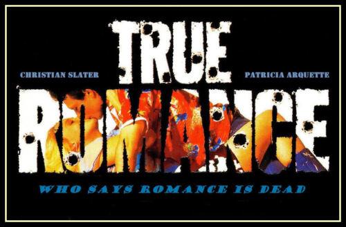 True Romance FRIDGE MAGNET 6x8 Magnetic Movie Poster Canvas Prints