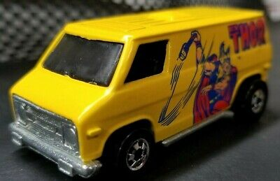 Hot Wheels THOR Super Van, Yellow, Blackwalls, Near Mint Loose
