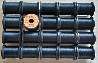 "Thread Floss, Size 8//0-50 yd Spool...Fly Tying Tinsel /""Uni-Thread Combo/"""