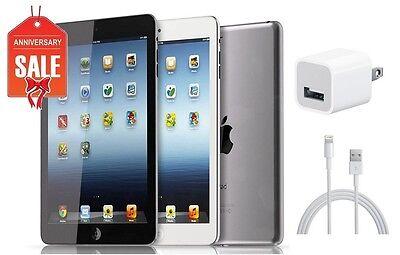 Apple iPad Mini 1st Gen - 16GB 32GB 64GB - Wi-Fi 7.9in - Black Gray White (R-D)