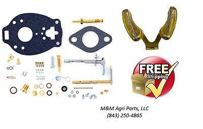 John Deere 1010 Complete Carburetor Kit Float Marvel Tsx860 Tractor Carb