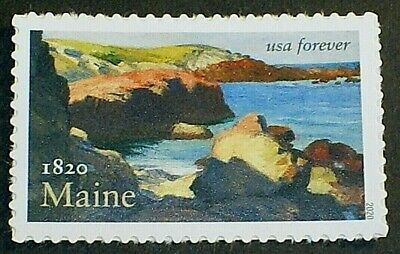 US Scott 5456 Maine Statehood Mint SA VF  Statehood Us Mint Stamp
