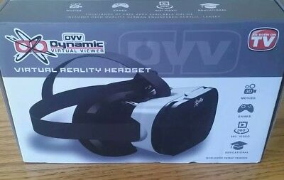 Dynamic Virtual Viewer( DVV) Virtual Reality VR Headset Player NEW IN BOX.
