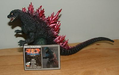 "2005 BANDAI 6""  GODZILLA 1999/2000 Figure w/CARD 50th ANNIVERSARY MEMORIAL BOX"