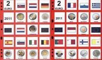 Aggiornamento 2 Euro 2011 Lotto 2 Fogli Lotto 0 -  - ebay.it