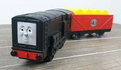 Thomas & Friends Motorized Trackmaster -- 2010 Talking Diesel w/ Attached Tender