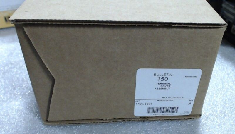 Allen Bradley 150-TC1 Series A Terminal Cover, line or load - 60 day warranty